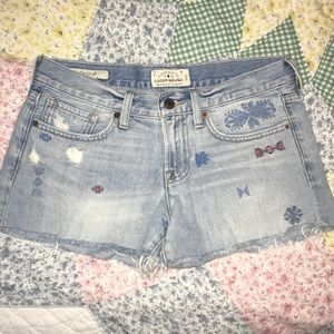 Lucky Brand cut off jean shorts